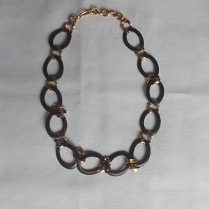 Vintage Monet mixed material necklace